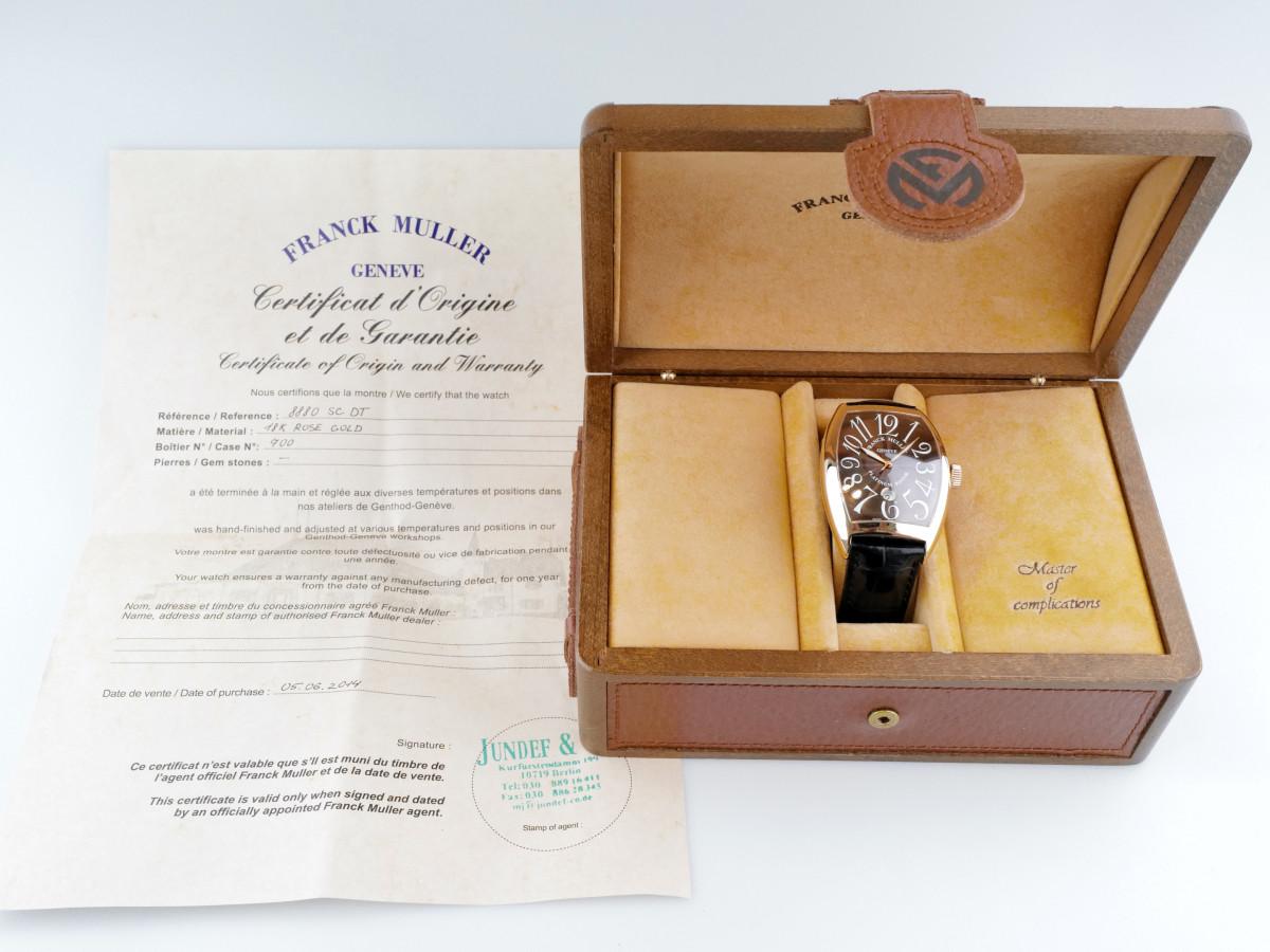 Швейцарские часы Franck Muller Cintree Curvex Chocolate XXL