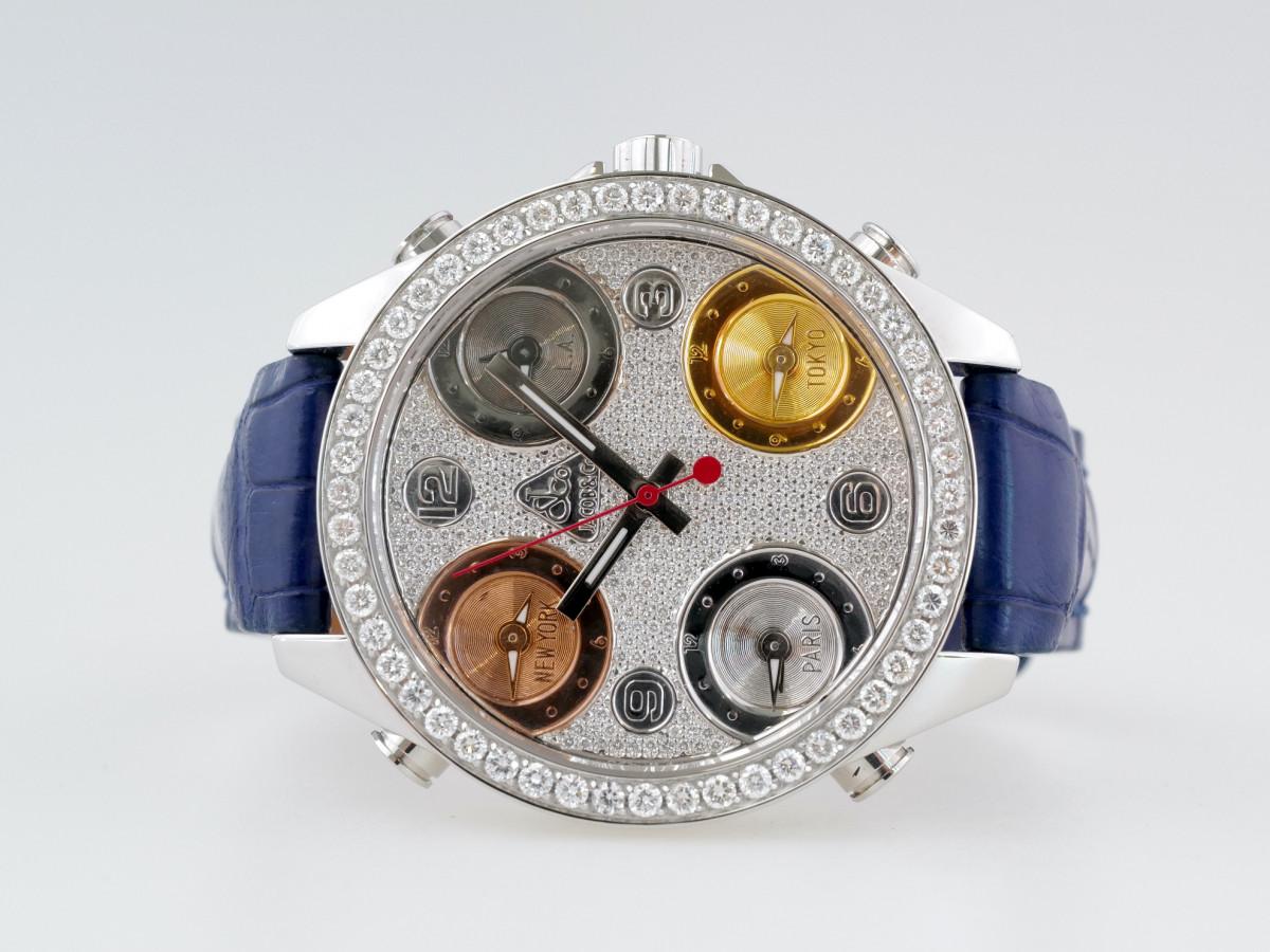 Швейцарские часы Jacob & Co. Five Time Zone