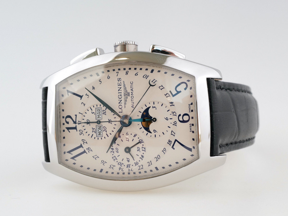 Швейцарские часы Longines Evidenza Chronograph Moonphase XL