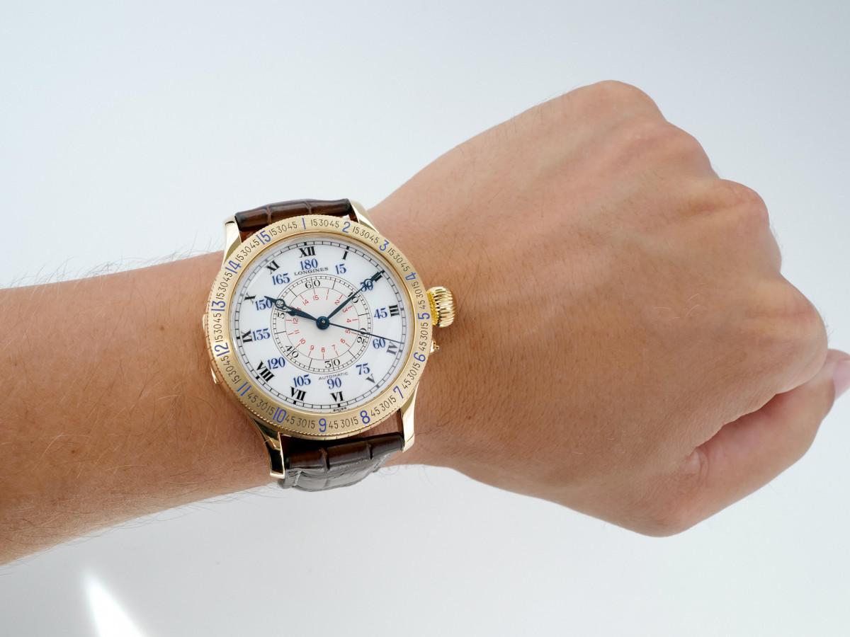 Швейцарские часы Longines Heritage Lindbergh 18K Gold Limited Edition