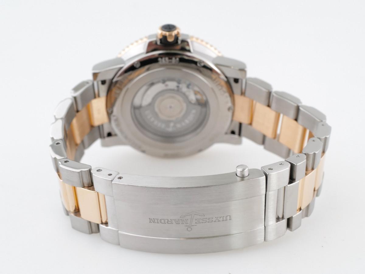 Швейцарские часы Ulysse Nardin Diver Maxi Marine Titanium 18K Gold
