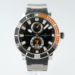 Швейцарские часы Ulysse Nardin Maxi Marine Diver Titanium