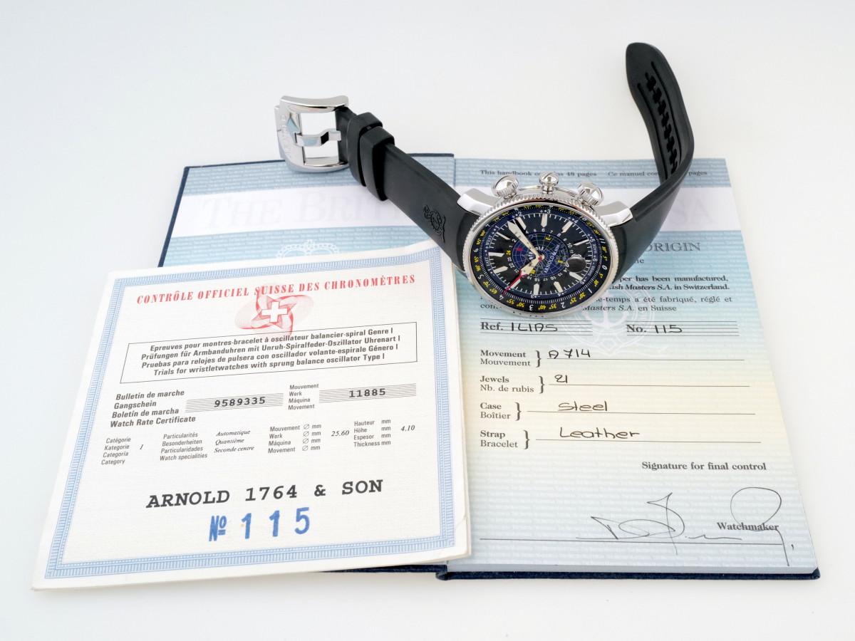 Швейцарские часы Arnold Son Longitude II