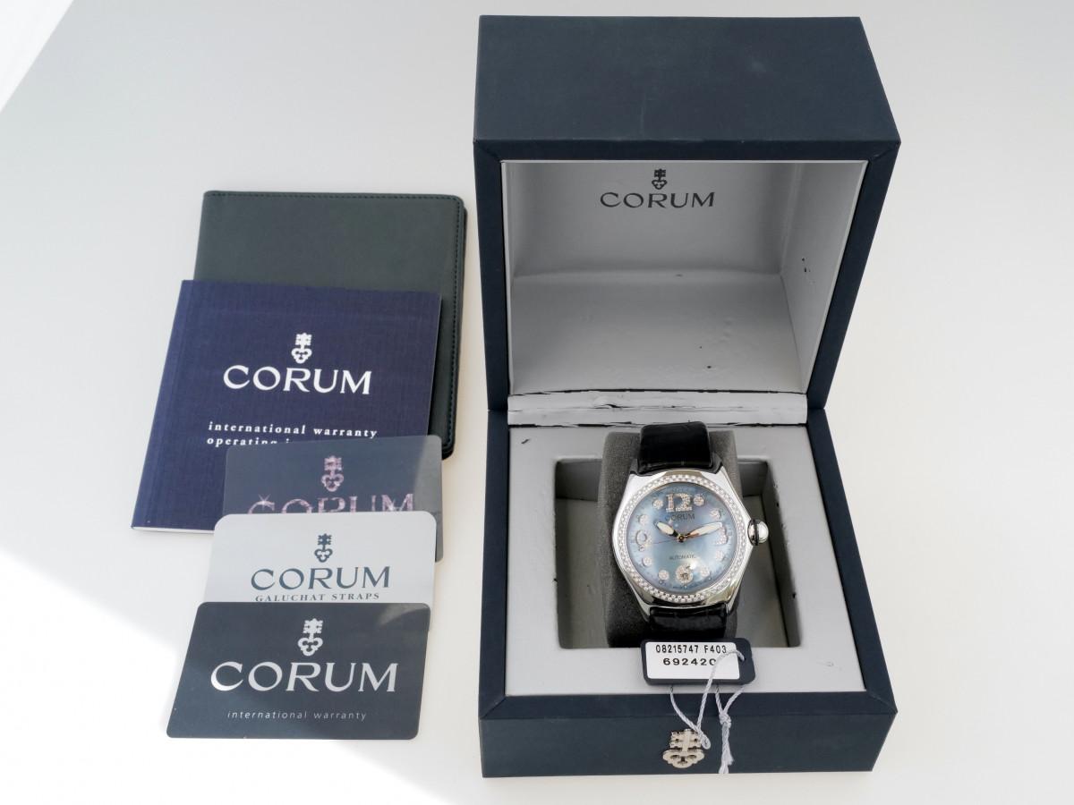 Швейцарские часы Corum Bubble Diamonds