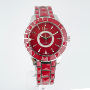 Швейцарские часы Dior Christal Automatic Diamond Red Sapphire