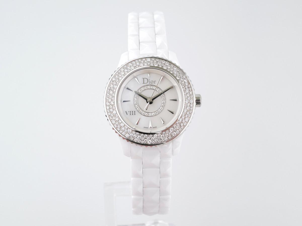 Швейцарские часы Dior VIII Diamond Bezel