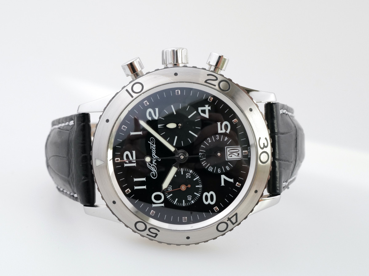 Швейцарские часы Breguet Type XX Transatlantique Flyback Chronograph