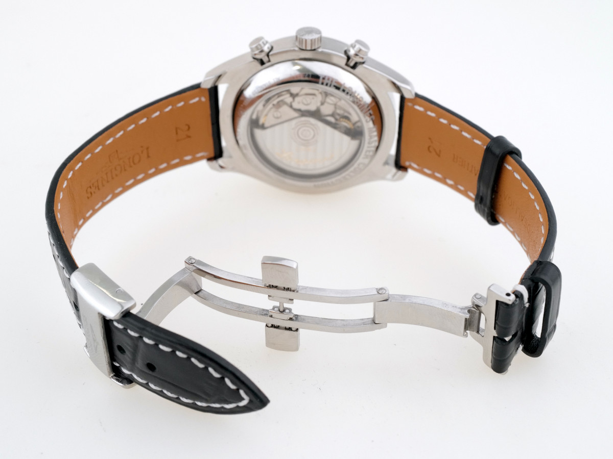 Швейцарские часы Longines Master Collection Moonphase Chronograph