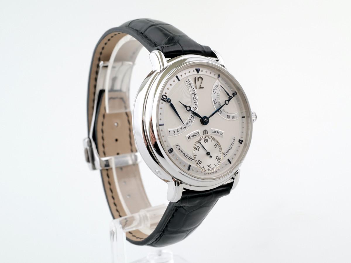 Швейцарские часы Maurice Lacroix Masterpiece Calendrier Retrograde