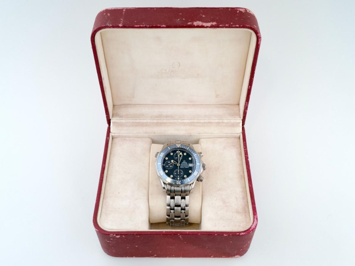 Швейцарские часы Omega Seamaster Chronograph 300m Titanium