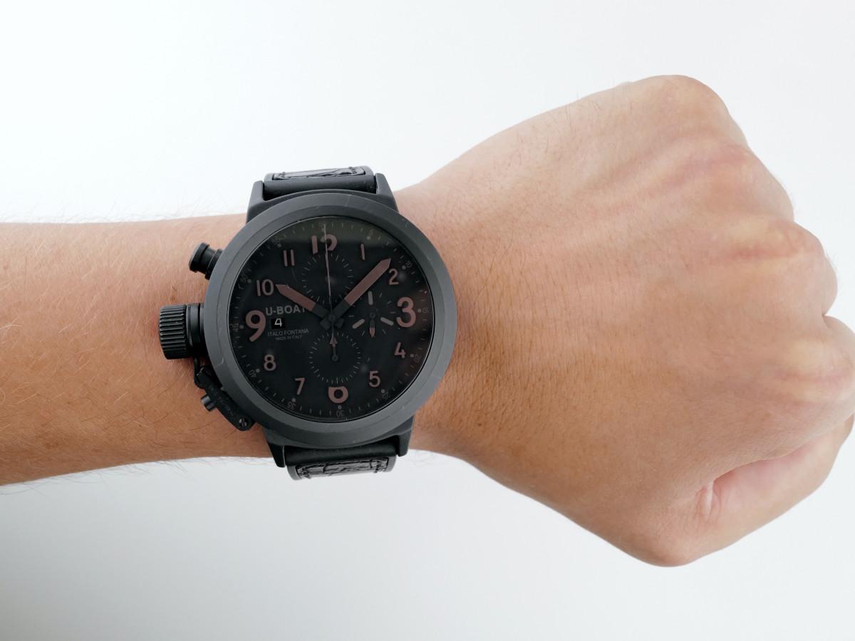 Швейцарские часы U-Boat Flightdeck Chronograph Ceramic