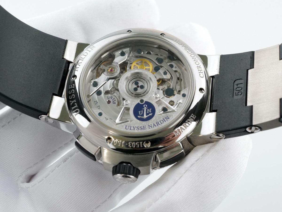 Швейцарские часы Ulysse Nardin Marine Chronograph Manufacture
