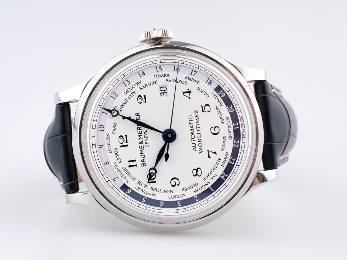 Швейцарские часы Baume & Mercier Worldtimer