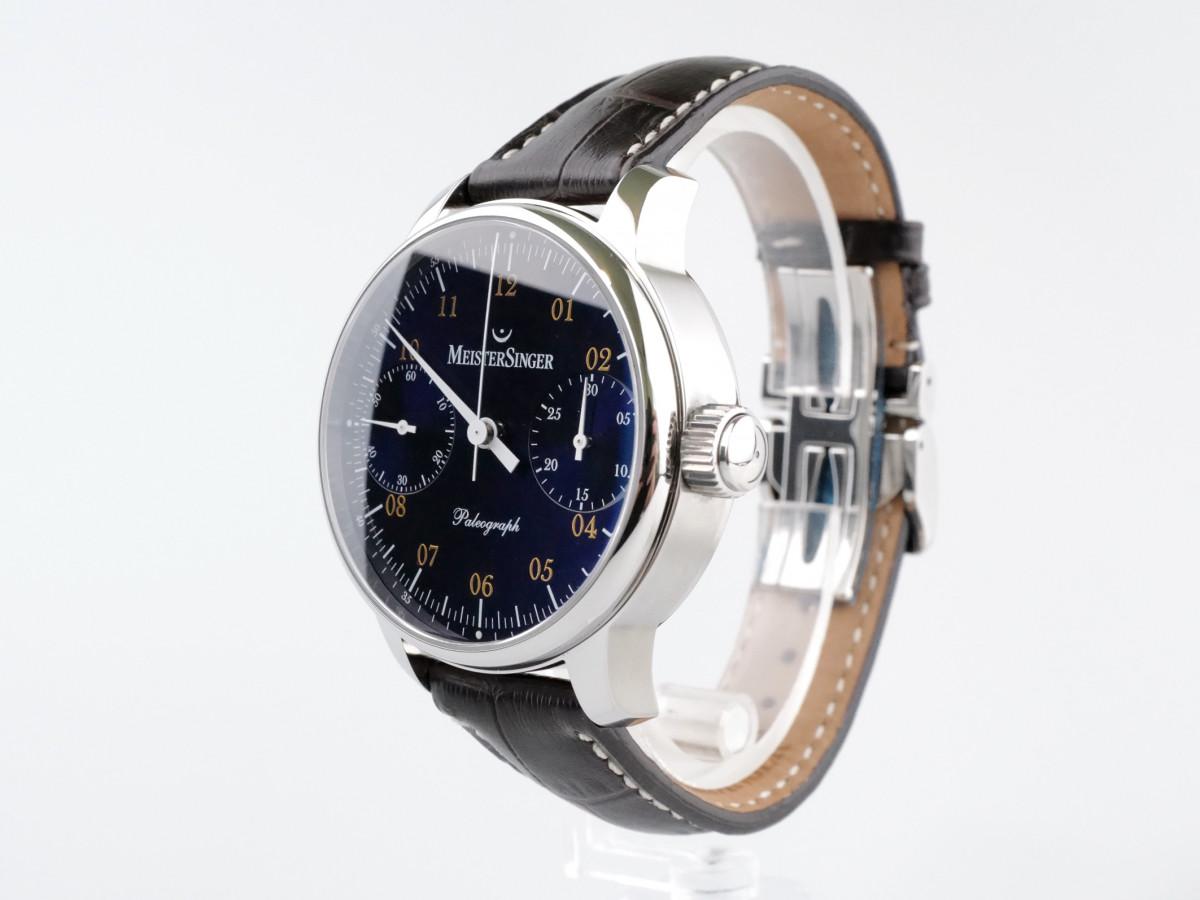 Швейцарские часы MeisterSinger Paleograph Blue Chronograph