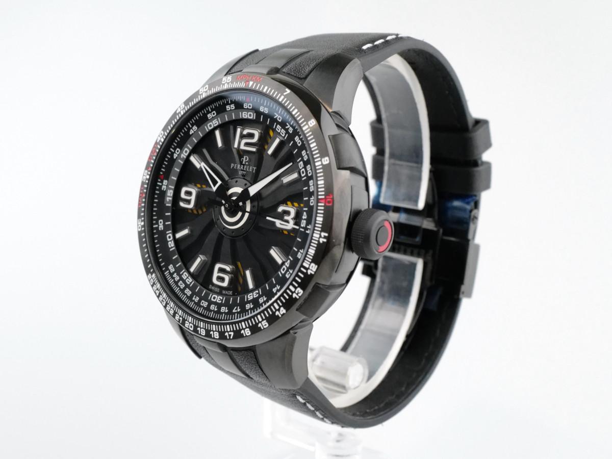 Швейцарские часы Perrelet Turbine Pilot Black