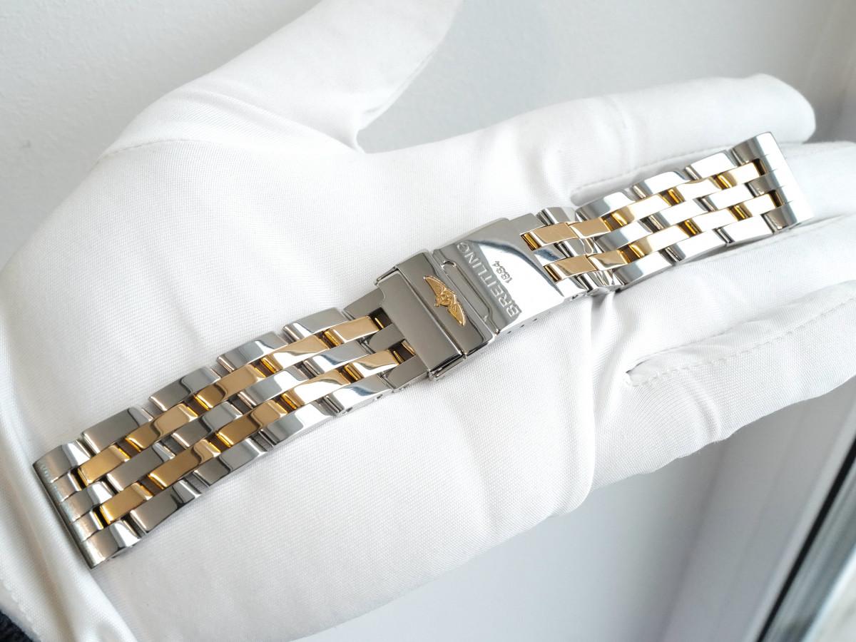 Швейцарские часы Браслет для часов Breitling Chronomat Evolution Cockpit Galactic 39-41мм (20мм крепления)