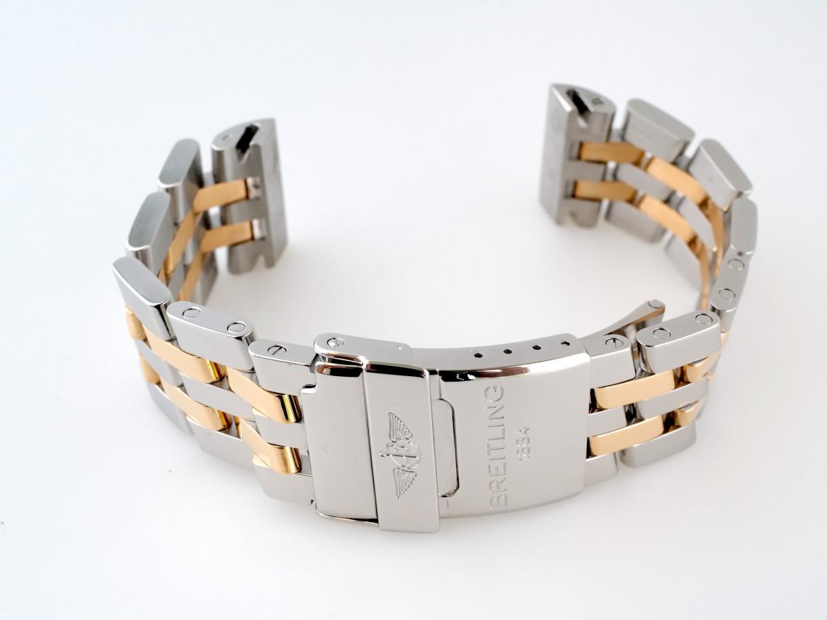 Швейцарские часы Браслет для часов Breitling Chronomat Evolution 44 мм