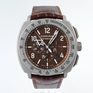 Швейцарские часы JeanRichard Aeroscope Chronograph