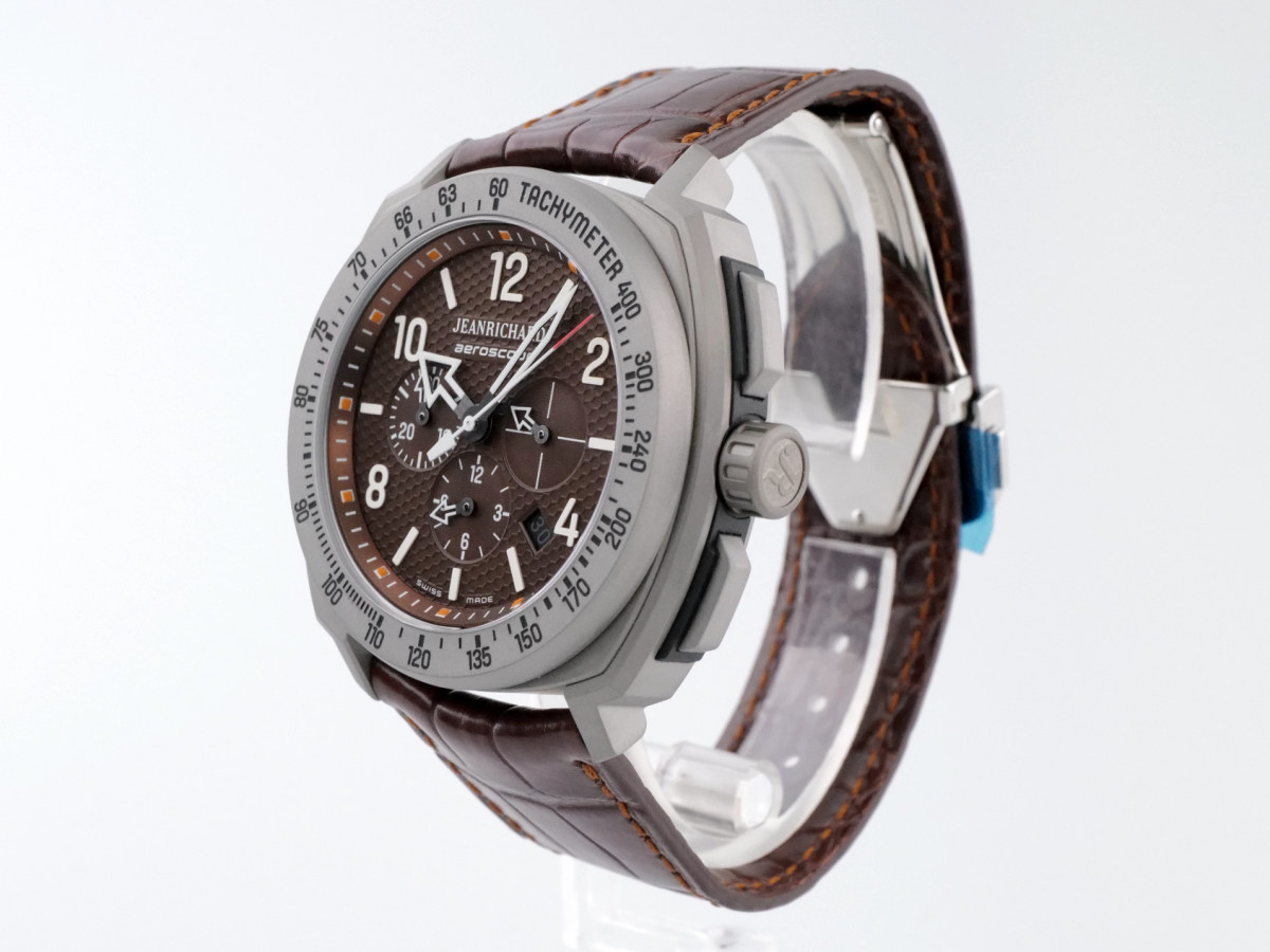 Швейцарские часы JeanRichard Aeroscope Chronograph