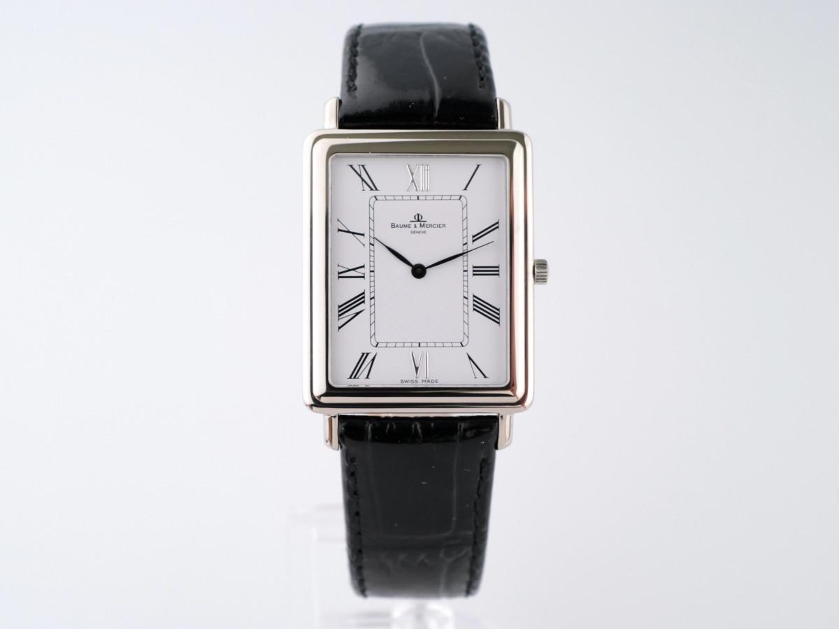 Швейцарские часы Baume & Mercier Hampton 18K White Gold