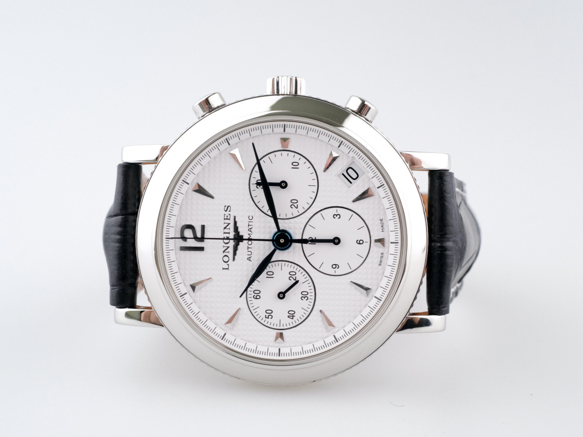 Швейцарские часы Longines Longines Clous de Paris Chronograph