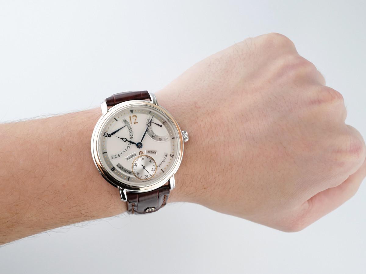 Швейцарские часы Maurice Lacroix Masterpiece Retrograde Calendrier
