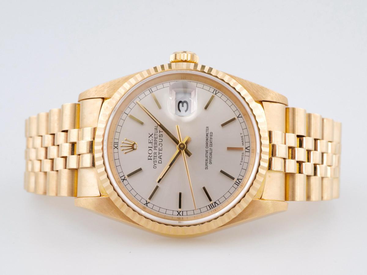 Швейцарские часы Rolex Datejust 18K Yellow Gold