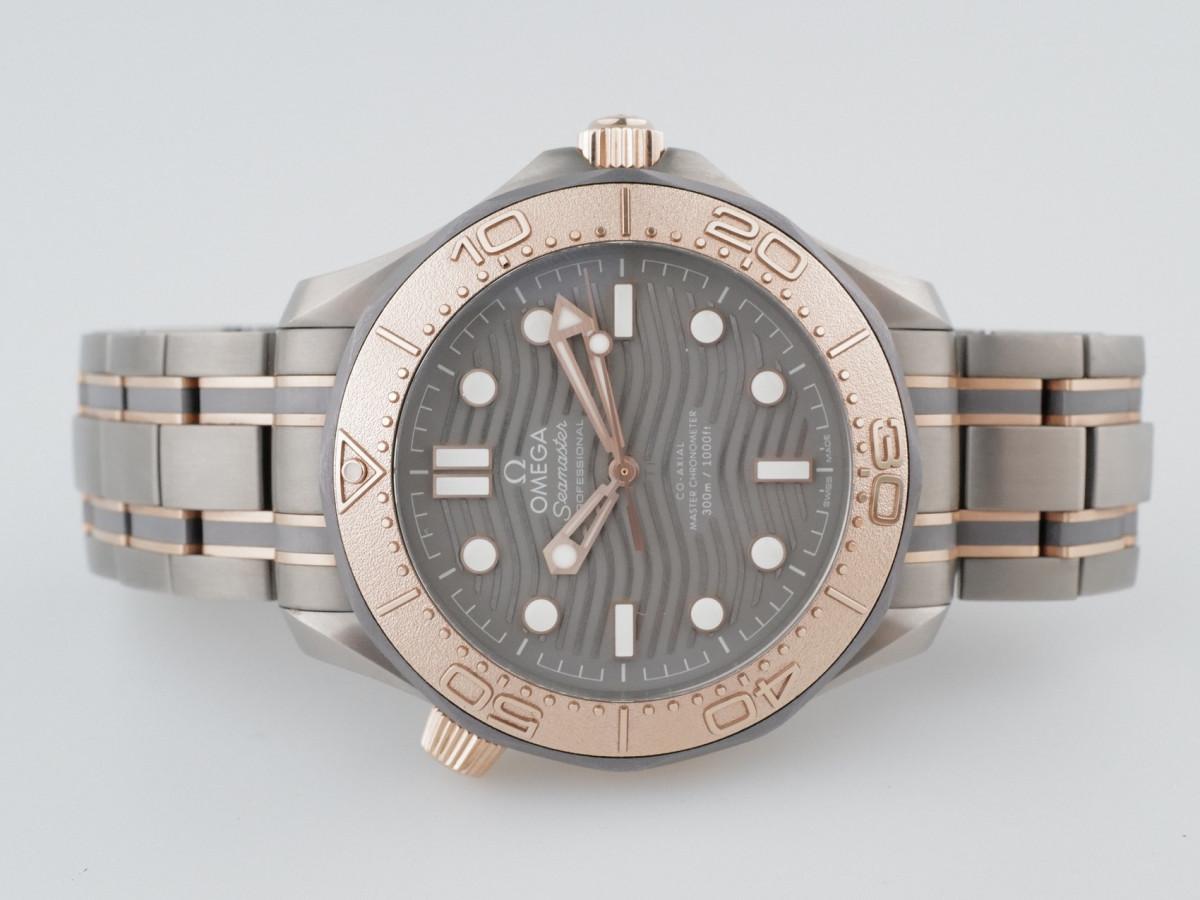 Швейцарские часы Omega Seamaster Diver 300 M Co-Axial Master Chronometer