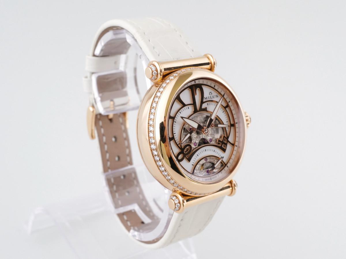 Швейцарские часы Milus Merea Tri-Second 18K Gold