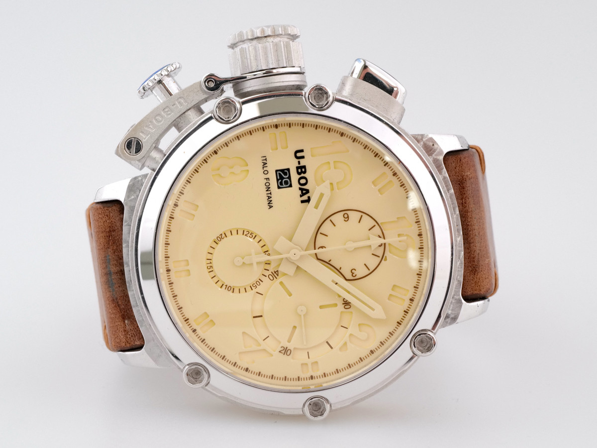 Швейцарские часы U-Boat Chimera 925 Silver