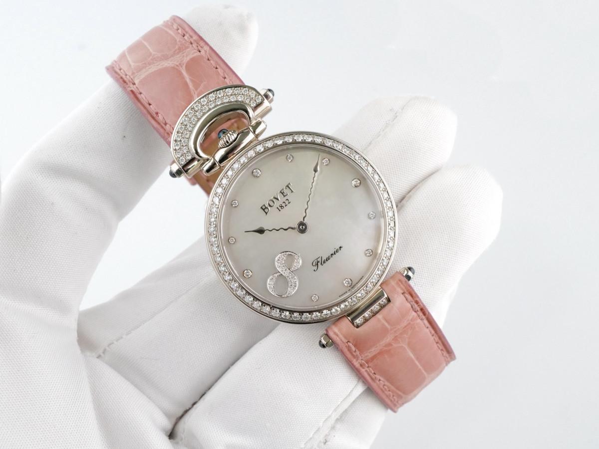 Швейцарские часы Bovet Fleurier 18k White Gold Diamonds