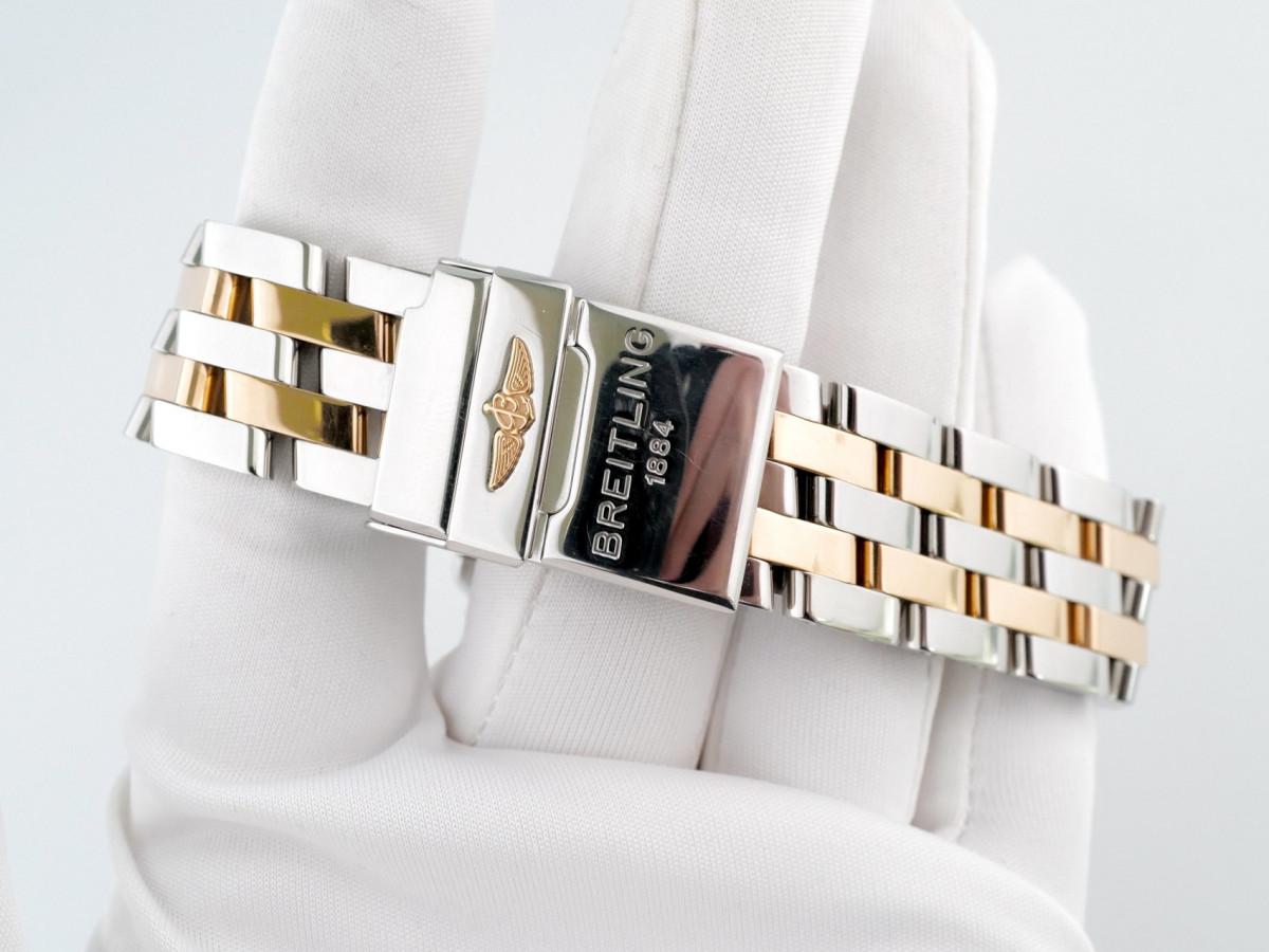 Швейцарские часы Breitling Galactic 41 Champagne Dial