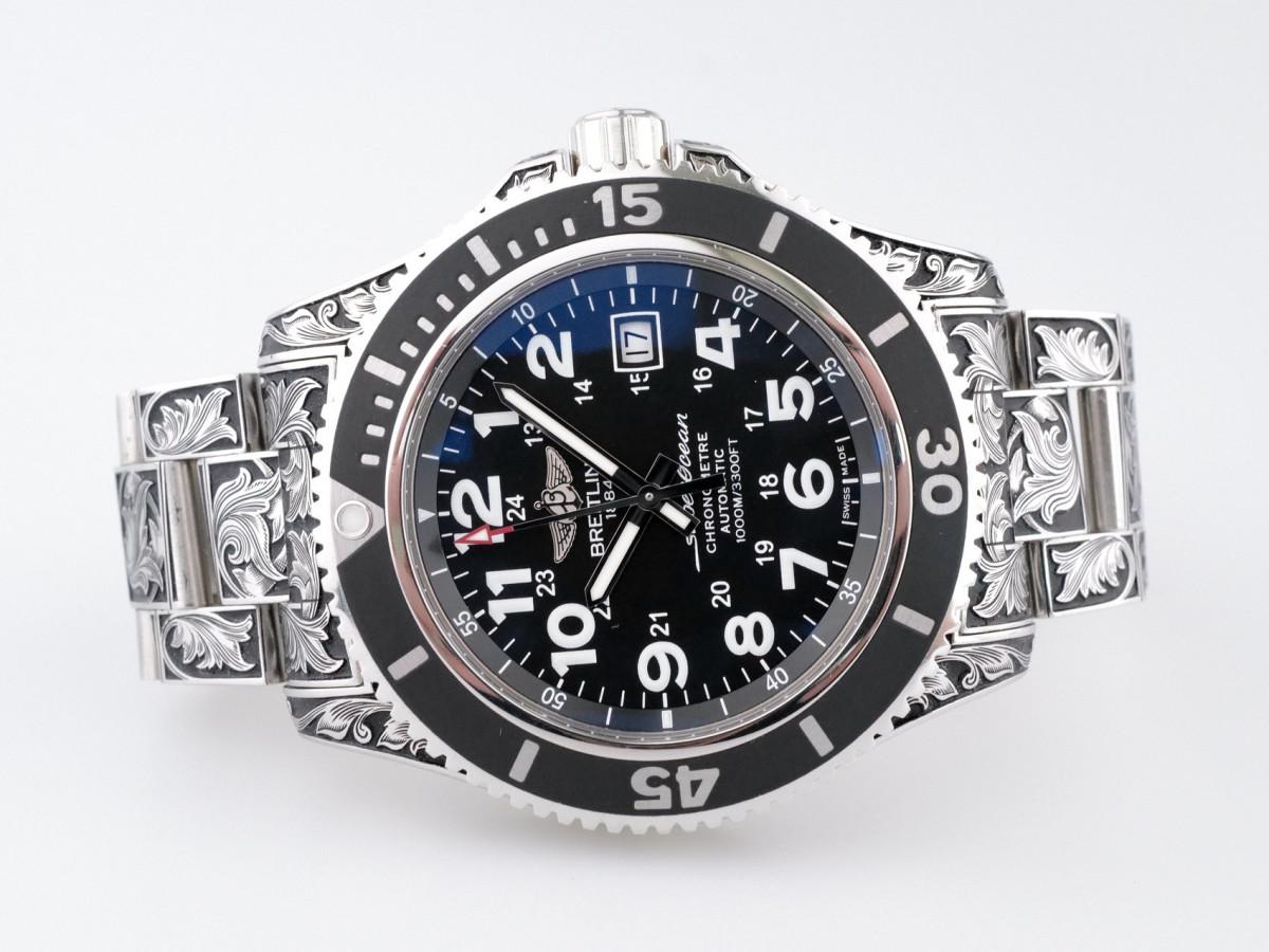 Швейцарские часы Breitling Superocean II 44 Custom