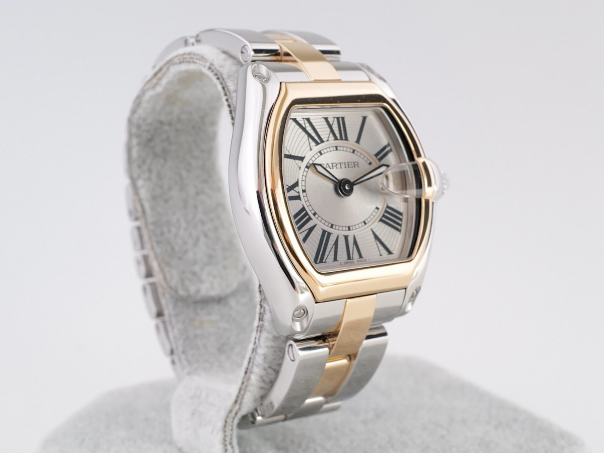 Швейцарские часы Cartier Roadster Ladies Gold Steel