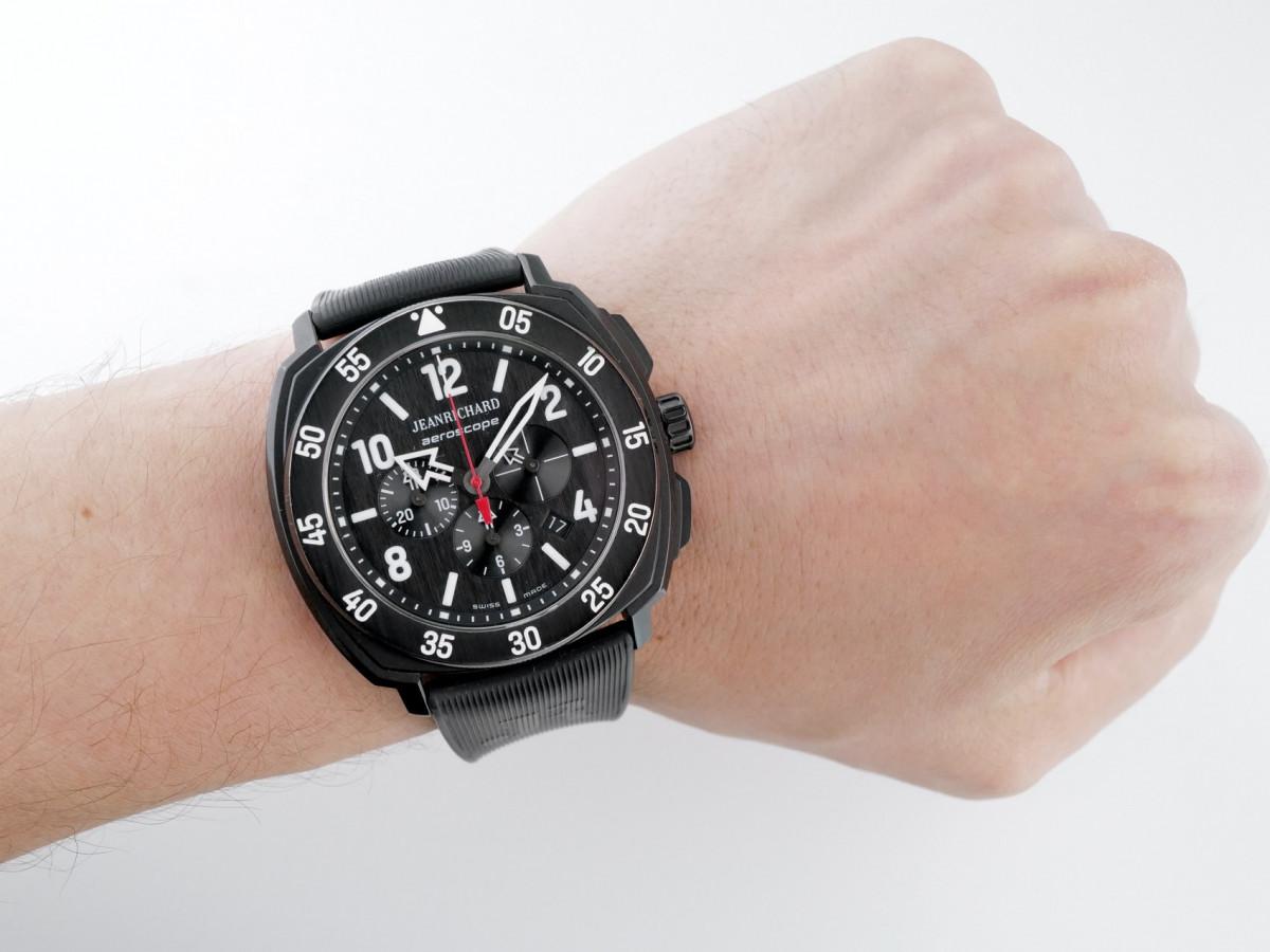 Швейцарские часы JeanRichard Aeroscope Titanium