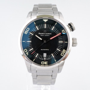 Швейцарские часы Maurice Lacroix Pontos S Diver Black Dial