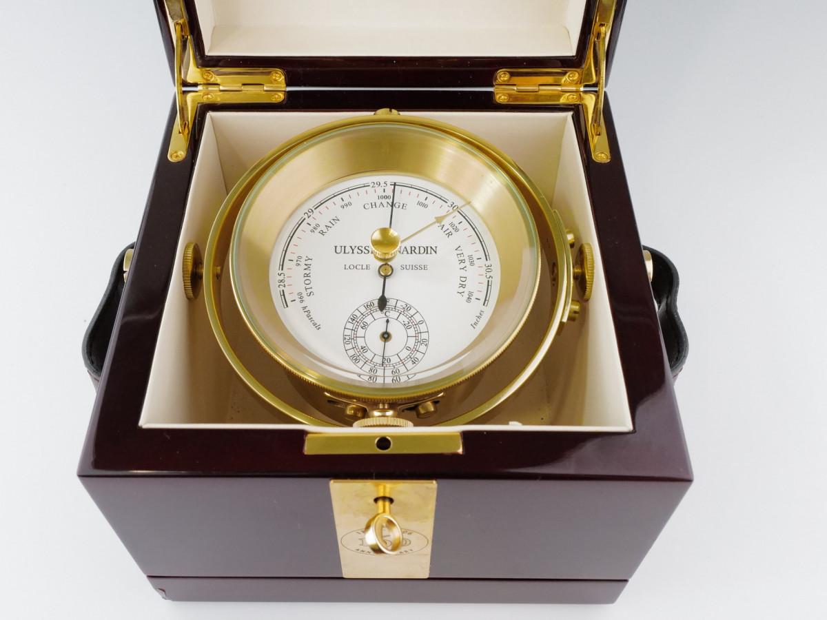Швейцарские часы Ulysse Nardin Brass Barometer