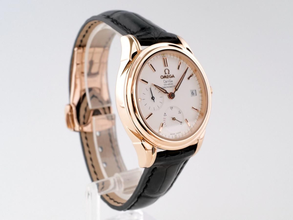 Швейцарские часы Omega De Ville Co-Axial Power Reserve 18K Gold