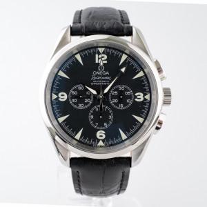 Швейцарские часы Omega Railmaster Chronograph
