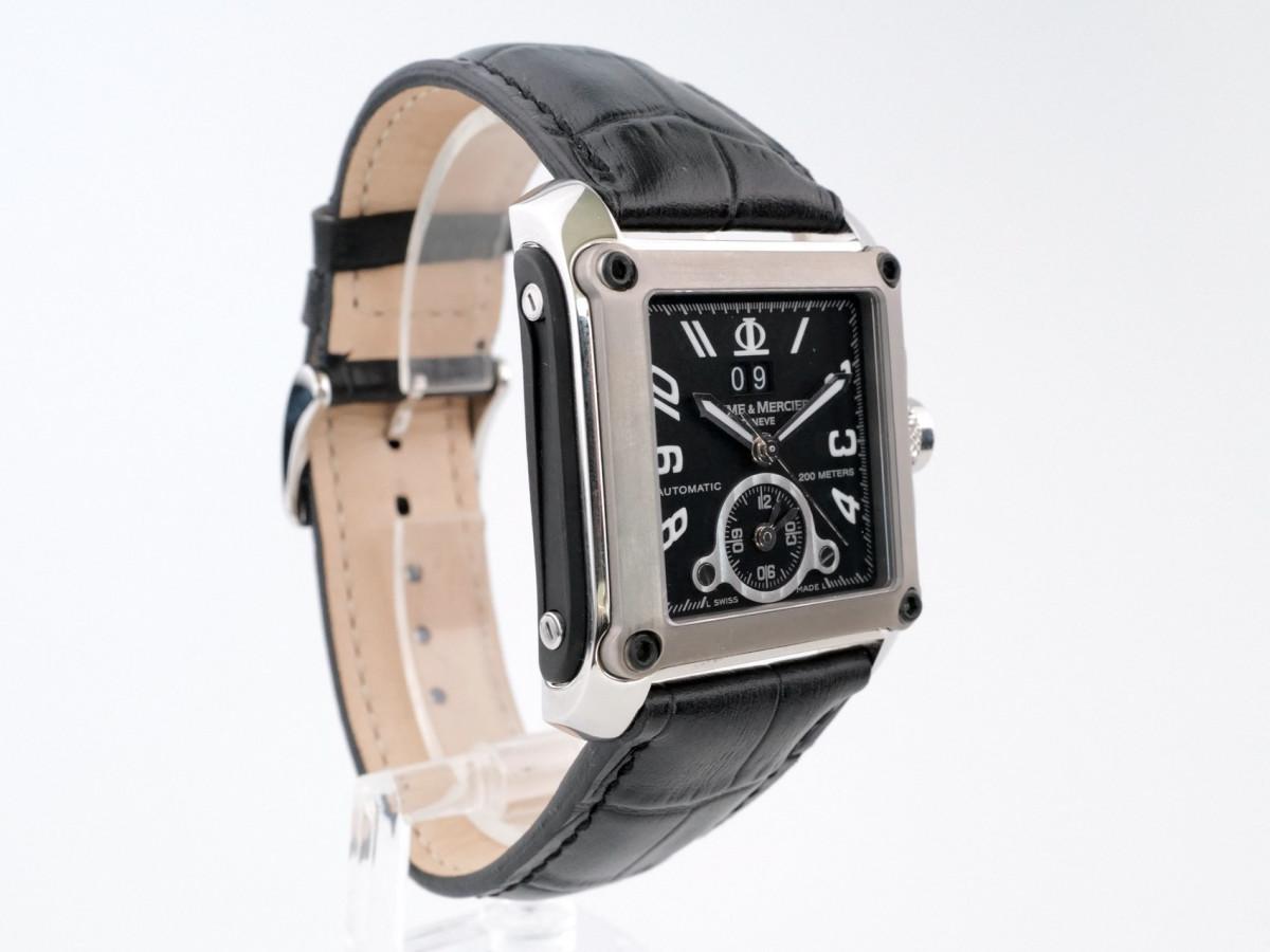 Швейцарские часы Baume & Mercier Hampton Square XL Dual Time