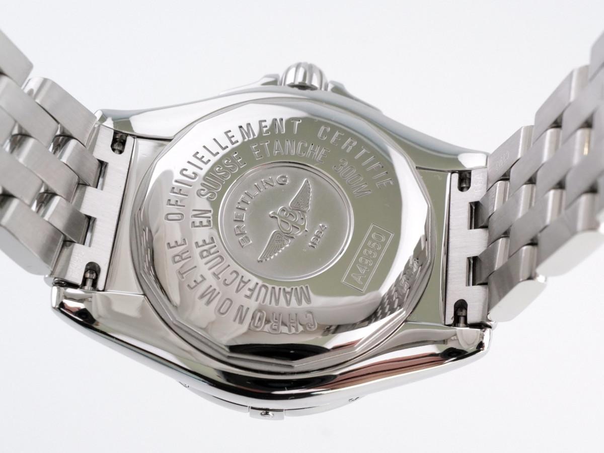 Швейцарские часы Breitling Galactic 41 Blue Dial