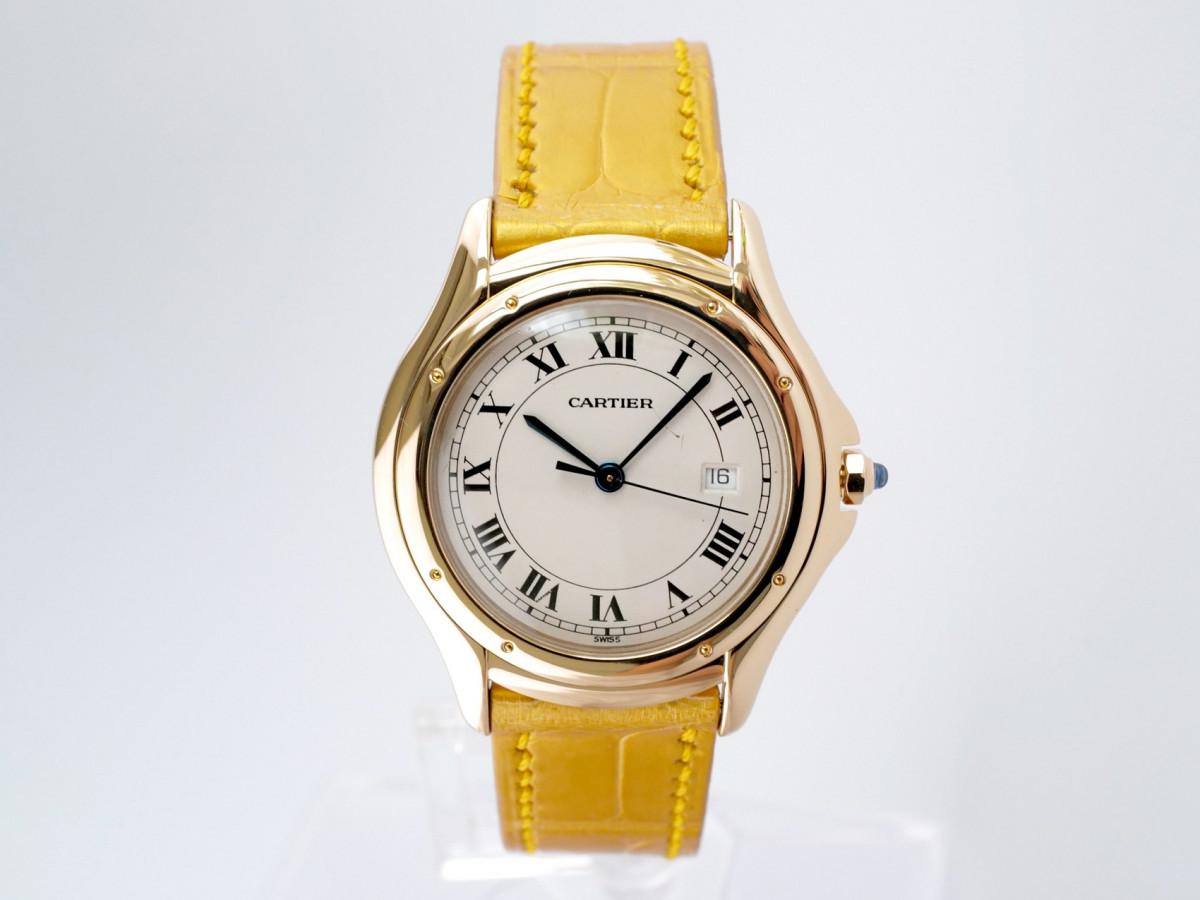Швейцарские часы Cartier Cougar 18K Gold
