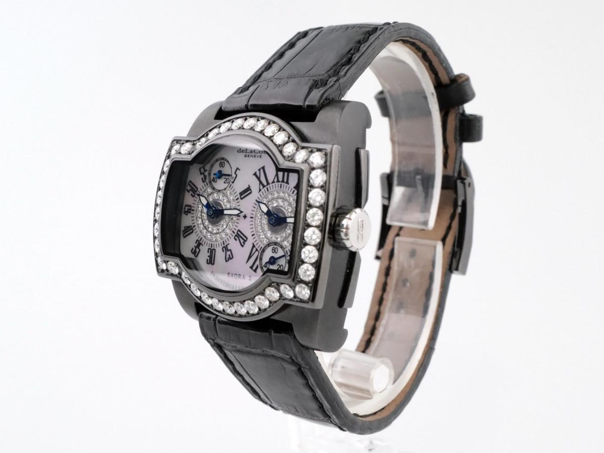 Швейцарские часы DeLaCour Saqra Diamonds