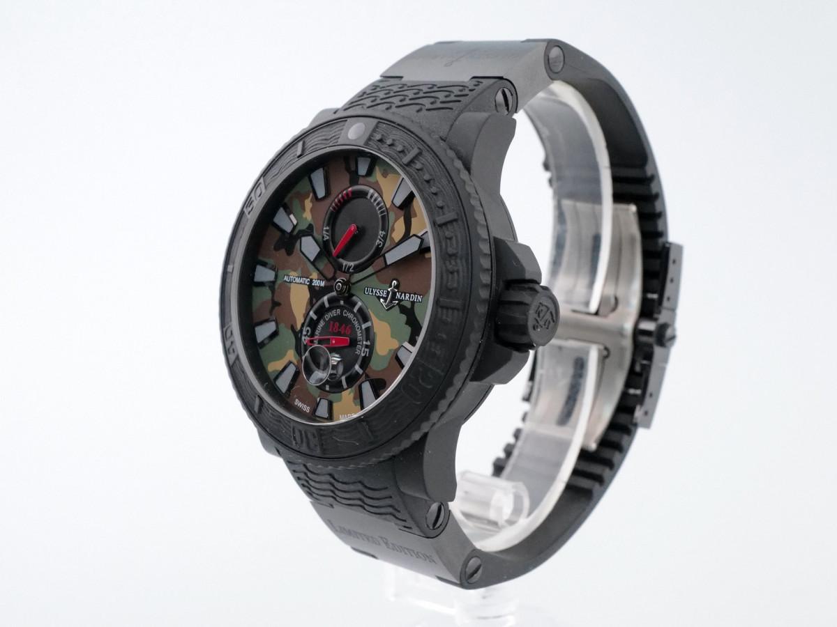 Швейцарские часы Ulysse Nardin Maxi Marine Military Camouflage Limited