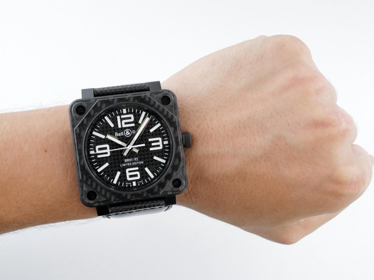 Швейцарские часы Bell and Ross Aviation Carbon Fiber