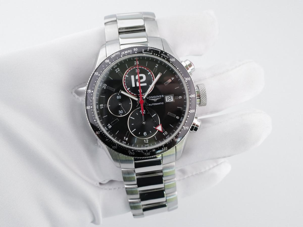 Швейцарские часы Longines Grand Vitesse Chronograph 24 Hour