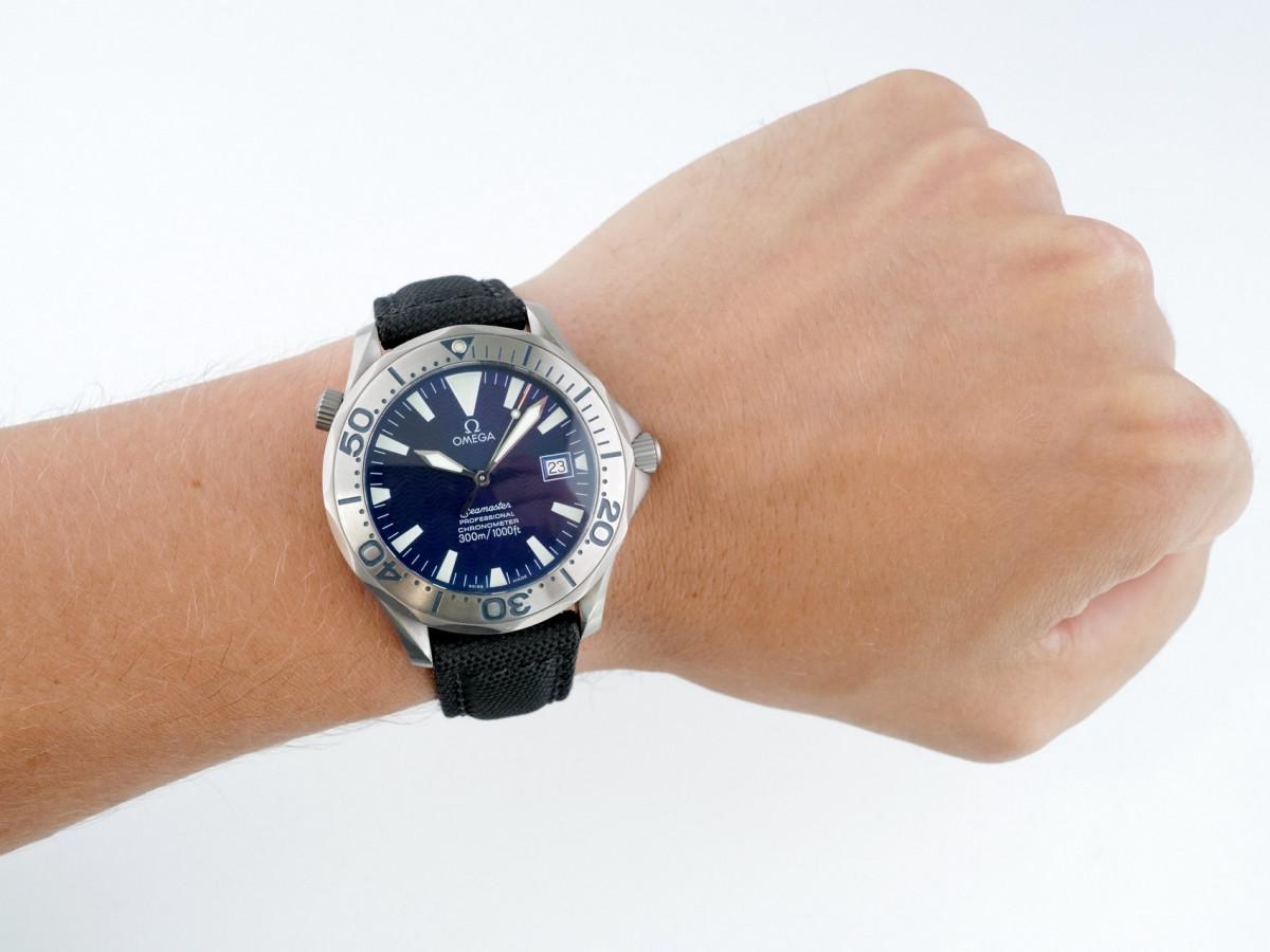 Швейцарские часы Omega Seamaster Professional 300M Titanium Sword Hands