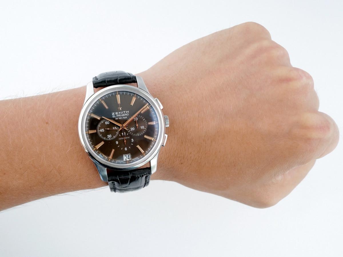 Швейцарские часы Zenith El Primero Captain Chronograph