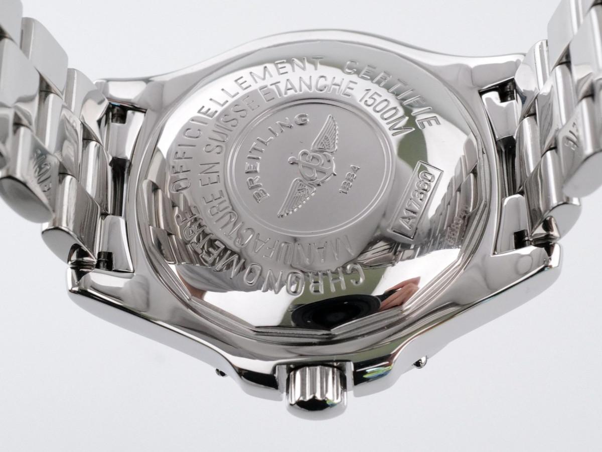 Швейцарские часы Breitling SuperOcean Automatic Chronometer Blue Dial