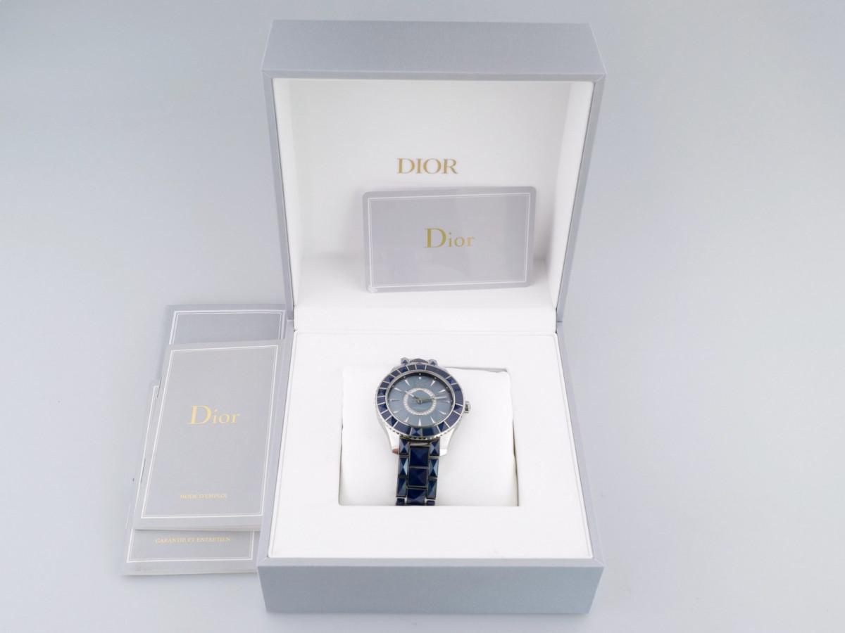 Швейцарские часы Dior Christal Blue Mother of Pearl Diamond Dial